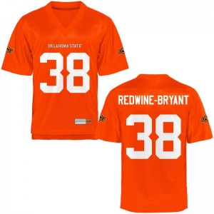 Oklahoma State Cowboys Philip Redwine-Bryant Jersey For Men Orange Game