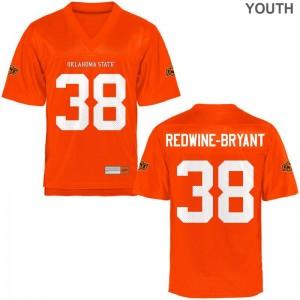Philip Redwine-Bryant Oklahoma State Cowboys Jersey Game For Kids Orange