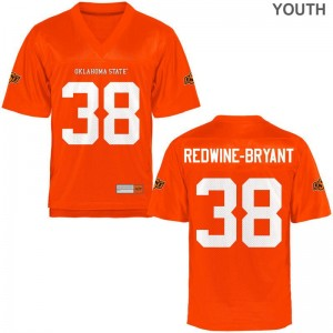 Game Philip Redwine-Bryant Jerseys OSU Cowboys Youth(Kids) Orange