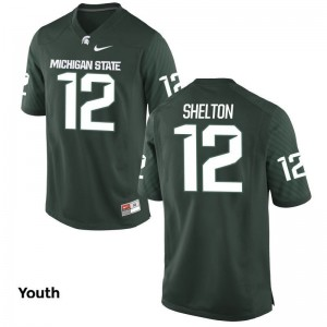 Game Youth(Kids) Spartans Jersey R.J. Shelton - Green