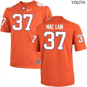 Kids Limited Clemson National Championship Jersey Ryan Mac Lain - Orange