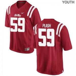 Samuel Plash Ole Miss Youth(Kids) Game Jerseys - Red