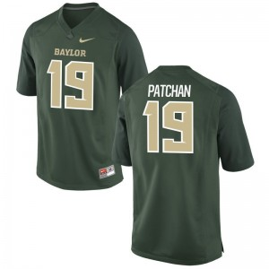 Scott Patchan University of Miami Jersey Green Limited For Men