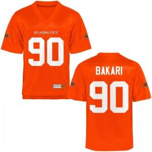 Taaj Bakari OSU Cowboys For Men Jersey Orange Stitch Limited Jersey
