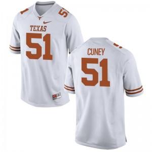 Game Terrell Cuney Jersey University of Texas Men - White