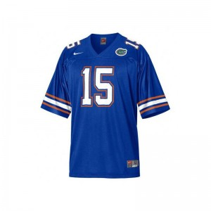 Men Limited Florida Jersey Tim Tebow Blue Jersey