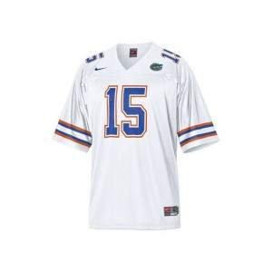 Tim Tebow Youth(Kids) Jerseys University of Florida Limited - White