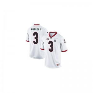 Todd Gurley Men White Jerseys UGA Limited