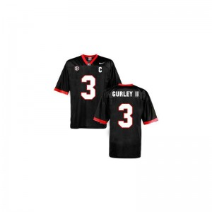Georgia Jerseys of Todd Gurley Limited For Kids - Black