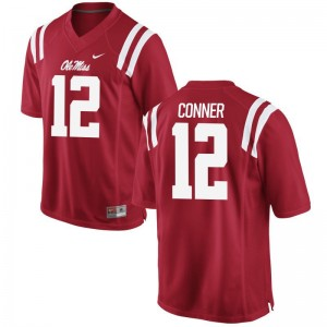 Tony Conner Ole Miss Jerseys Red Limited For Men