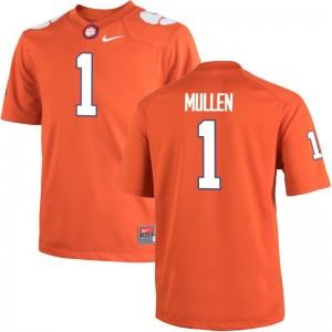 For Men Trayvon Mullen Jersey Clemson National Championship Limited Orange