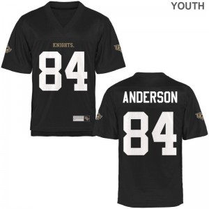 Trey Anderson Knights Jerseys Game Black Youth(Kids)