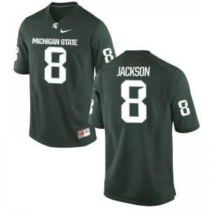 Youth Game Spartans Jerseys of Trishton Jackson - Green