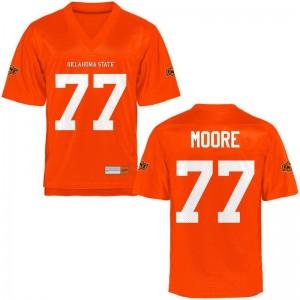 OSU Cowboys Tyler Moore Jersey Game For Men Orange