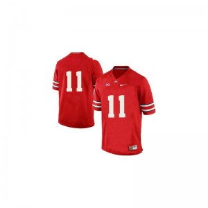 OSU Buckeyes Mens Limited Red Vonn Bell Jersey