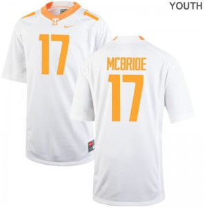 Tennessee Volunteers Will McBride Youth(Kids) Limited Jersey - White