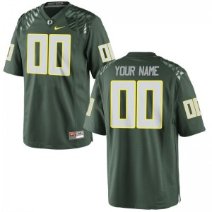 Youth(Kids) Custom Jerseys Oregon Green Limited
