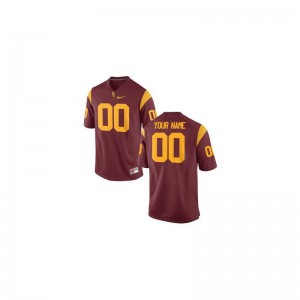 For Kids Customized Jerseys Cardinal Limited USC Trojans Customized Jerseys
