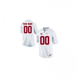 University of Alabama Customized Jersey Limited White Kids