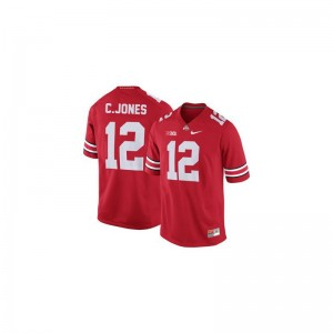 OSU Buckeyes Cardale Jones Jersey Game Kids #12 Red