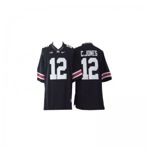 Limited Ohio State Buckeyes Cardale Jones For Kids Jersey - #12 Black
