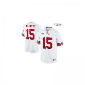 Limited Ohio State Ezekiel Elliott Kids Jerseys - #15 White