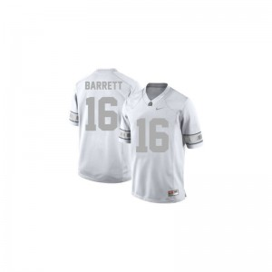 J.T. Barrett Jersey Ohio State #16 Platinum Game Youth(Kids) Jersey