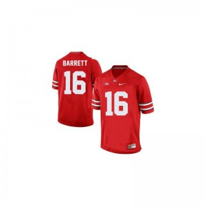 J.T. Barrett Ohio State Game Youth Jersey - #16 Red