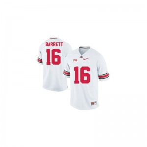 Ohio State Buckeyes J.T. Barrett Jerseys College For Kids Game #16 White Jerseys