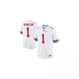 Braxton Miller Youth Jerseys Game Ohio State - #1 White