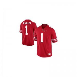 Ohio State Buckeyes Braxton Miller Jerseys #1 Red Limited Kids
