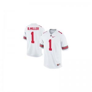 Braxton Miller Kids Jerseys OSU Limited - #1 White
