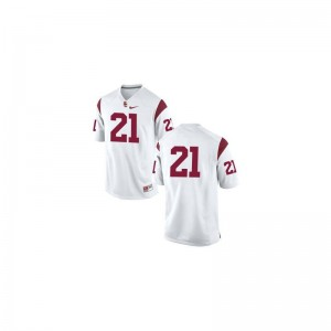 Trojans Su'a Cravens Jersey Game #21 White Youth