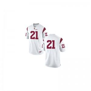 #21 White Su'a Cravens Jerseys USC Youth(Kids) Limited