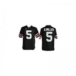 Braxton Miller Ohio State Buckeyes Jerseys Limited Kids - #5 Black
