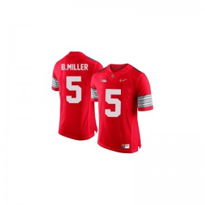 Ohio State Buckeyes Braxton Miller Jerseys Limited Youth - #5 Red Diamond Quest Patch