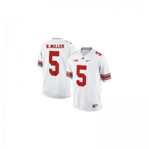 Braxton Miller Jersey OSU #5 White Limited Youth(Kids) Football Jersey