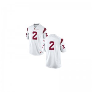 Trojans Adoree' Jackson Jersey For Kids Game #White Jersey