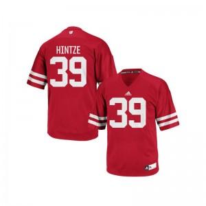 Zach Hintze UW Replica For Men Jerseys - Red